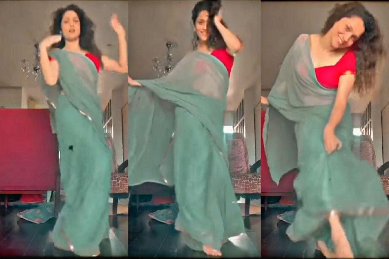 Photo of 'সাওয়ার লু' গানে কোমর দুলিয়ে নেটপাড়া মাতালেন অঙ্কিতা লোখান্ডে! নিমেষে ভাইরাল ভিডিও