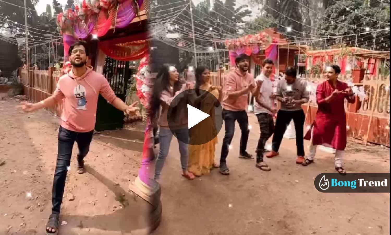 Photo of শ্যামার পর এবার 'হরে রাম হরে কৃষ্ণ' সুরে ভজন গাইছেন নিখিল, নেটপাড়ায় তমুল ভাইরাল ভিডিও