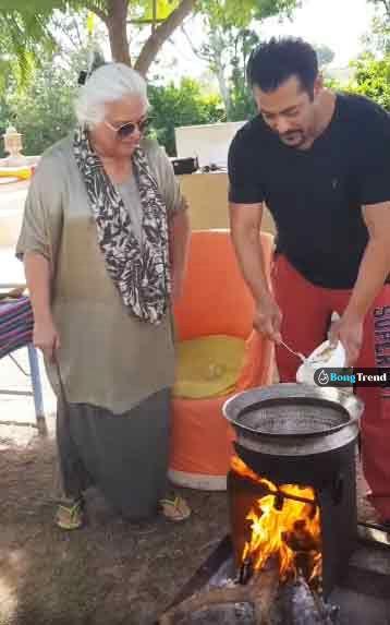 সালমান খান Salman Khan বিনা কাক Bina Kak