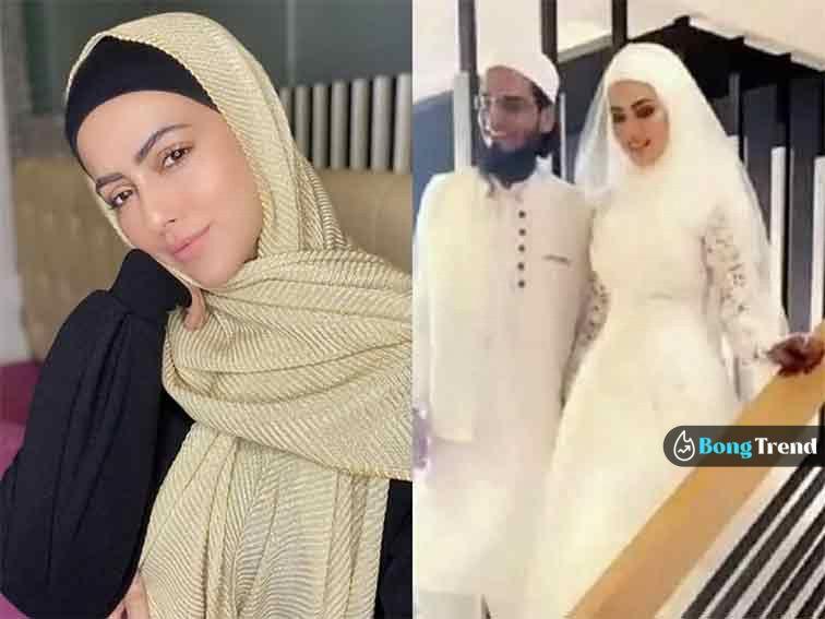 Sana khan সানা খান sayeed wedding