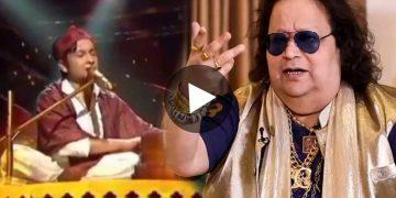 Bappi Lahiri in Indian Idol Gave Pavandeep Ranjan Gold Chain Viral Video বাপ্পি লাহিড়ী ইন্ডিয়ান আইডল পবনদীপ রঞ্জন ভাইরাল ভিডিও