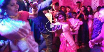 bride dancing viral video