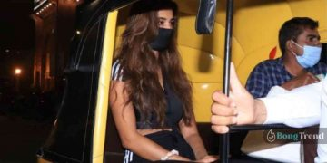 Disha Patani In Auto Rickshaw Viral Photo দিশা পাটানি ভাইরাল ছবি