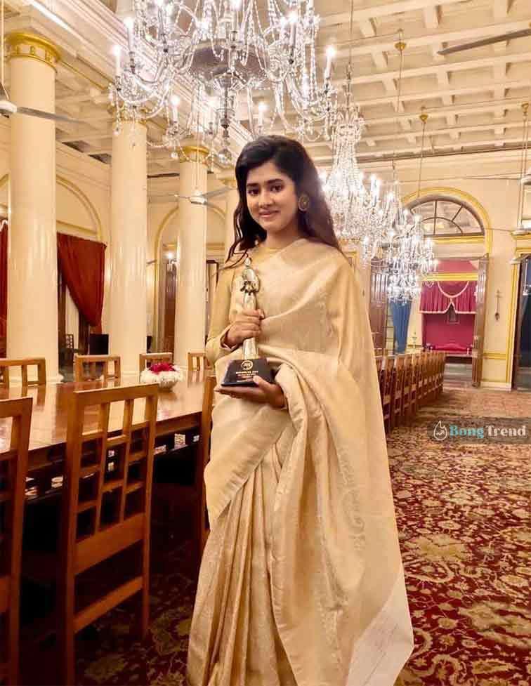 Bochorer Sera Award Ditipriya Roy দিতিপ্রিয়া রায় বছরের সেরা অ্যাওয়ার্ড