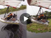 Viral Video ভাইরাল ভিডিও Flying Waterboar