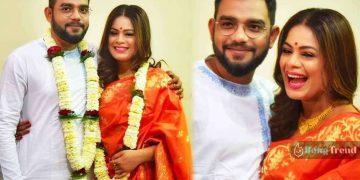 Iman Chakraborty ইমন চক্রবর্তী NIlanjan Ghosh wedding