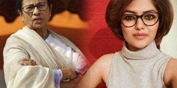 Mamata Banerjee Sayani ghosh মমতা বন্দোপাধ্যায় সায়নী ঘোষ