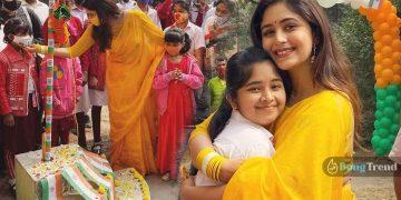 ঋতাভরী চারকাবর্তী প্রজাতন্ত্র দিবস পালন Ritabhari Chakraborty Republis Day