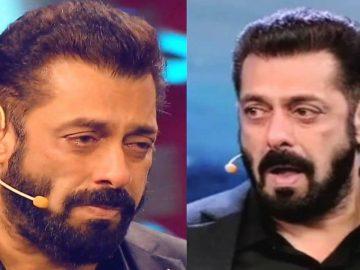 Salman Khan crying