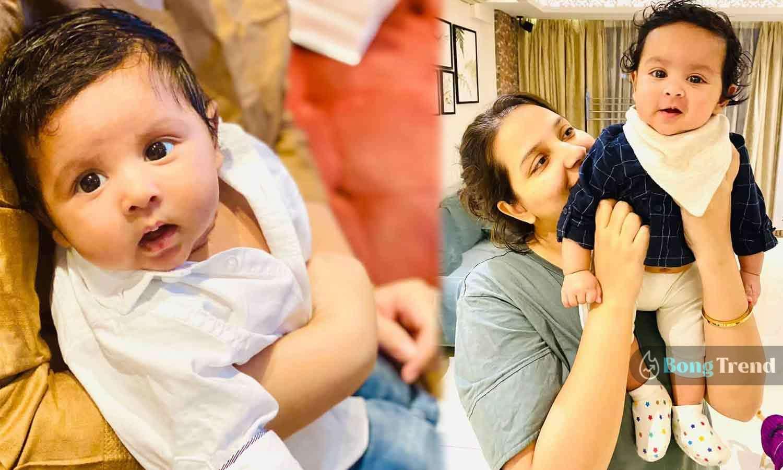 Photo of মায়ের কোলে পুচকে মহারাজ! যুবানকে কোলে নিয়ে শুভশ্রীর ছবি শেয়ার হতেই নিমেষে ভাইরাল নেটপাড়ায়
