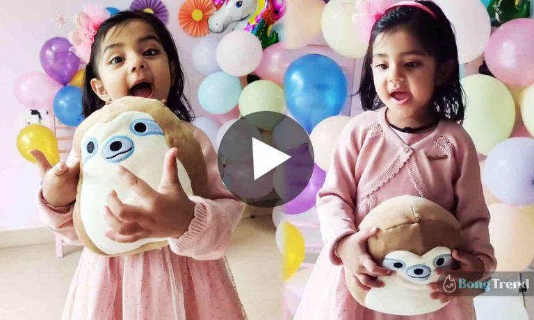 ভাইরাল ভিডিও Viral Video Little Girl Tribute to sushant