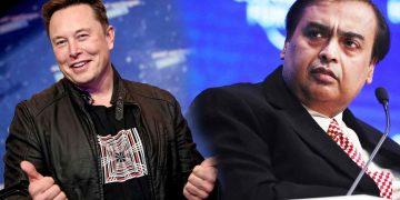 Elon Mask Mukesh Ambani