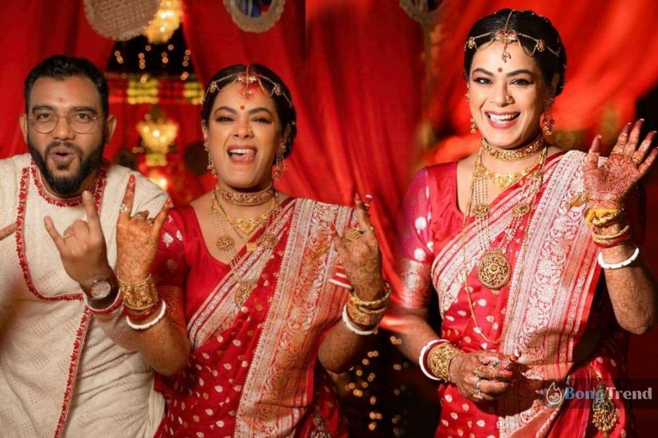 Photo of শুধু গাইতে না নাচতেও জানেন ইমন! কনের সাজে 'টুম্পা' 'রঙ্গবতী' গানে কোমর দোলালেন গায়িকা