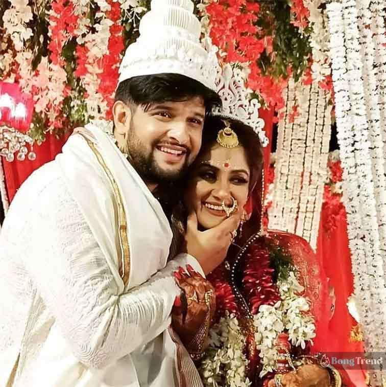 Neel Bhattacharya Trina Saha Wedding