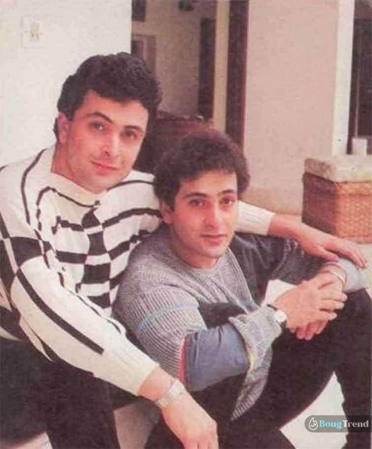 রাজীব কাপুর Rajiv Kapoor Rishi Kapoor Brother