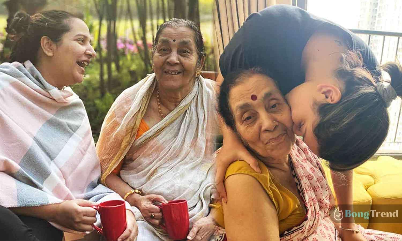 Photo of শাশুড়ির সঙ্গে ভালবাসার মুহূর্তে ক্যামেরাবন্দী শুভশ্রী, ভাইরাল শাশুড়ি-বউমার ছবি
