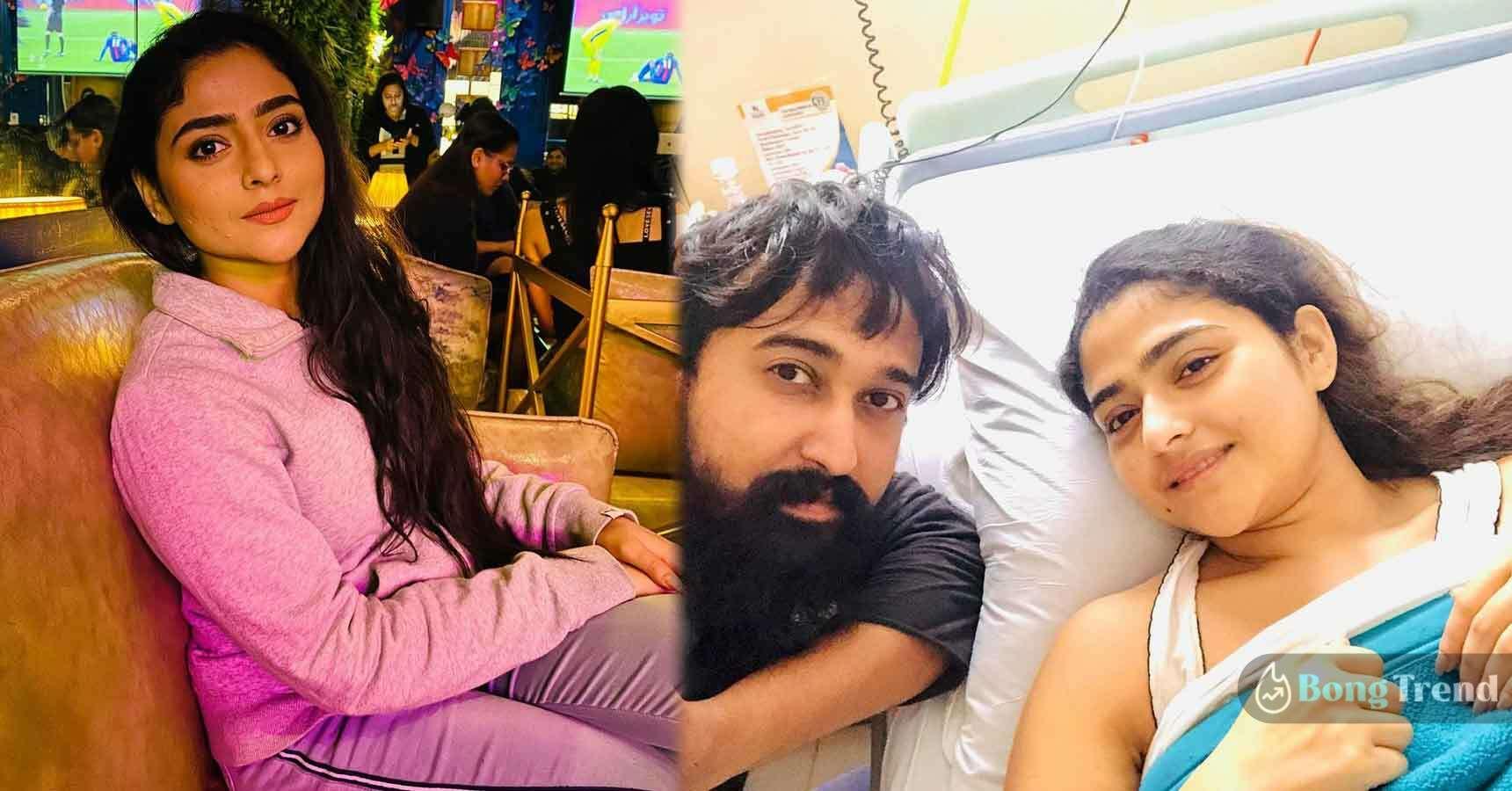 Aindrila Sharma back in shooting