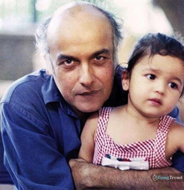 আলিয়া ভাট Alia Bhatt with father Mahesh Bhatt