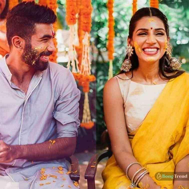 Jasprit Bumrah Sanjana Ganeshan Wedding Photos