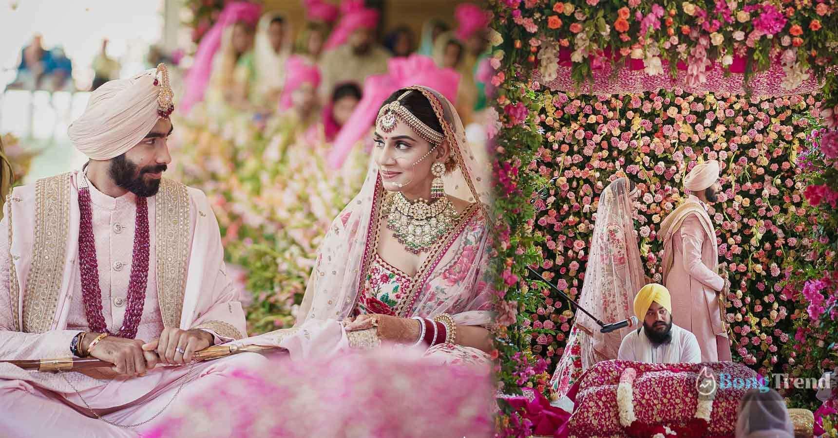 Photo of সাত পাকে বাঁধা পড়লেন জসপ্রীত বুমরাহ, বিয়ের প্রথম ছবি ব্যাপক ভাইরাল নেটপাড়ায়