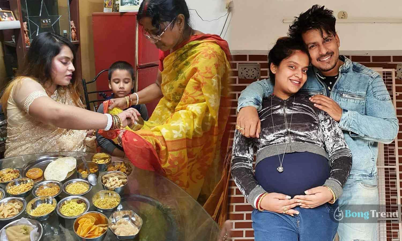 Photo of টেবিল ভর্তি রকমারি খাবারে জমজমাট মধুবনীর সাধের অনুষ্ঠান, ছবি শেয়ার হতেই ভাইরাল নেটপাড়ায়