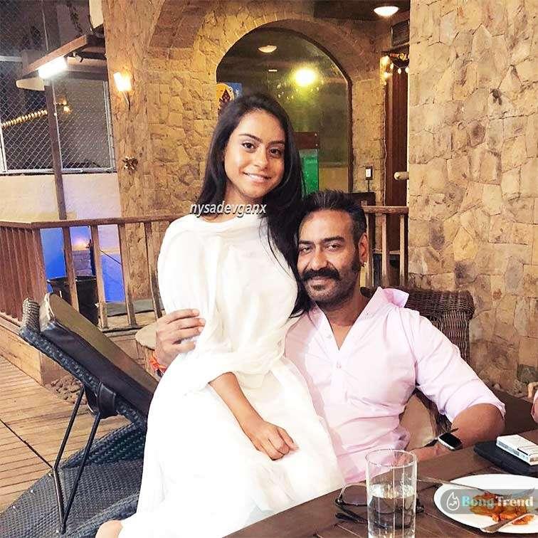 Ajay Debgan Kajol Daughter Nysa Debgan