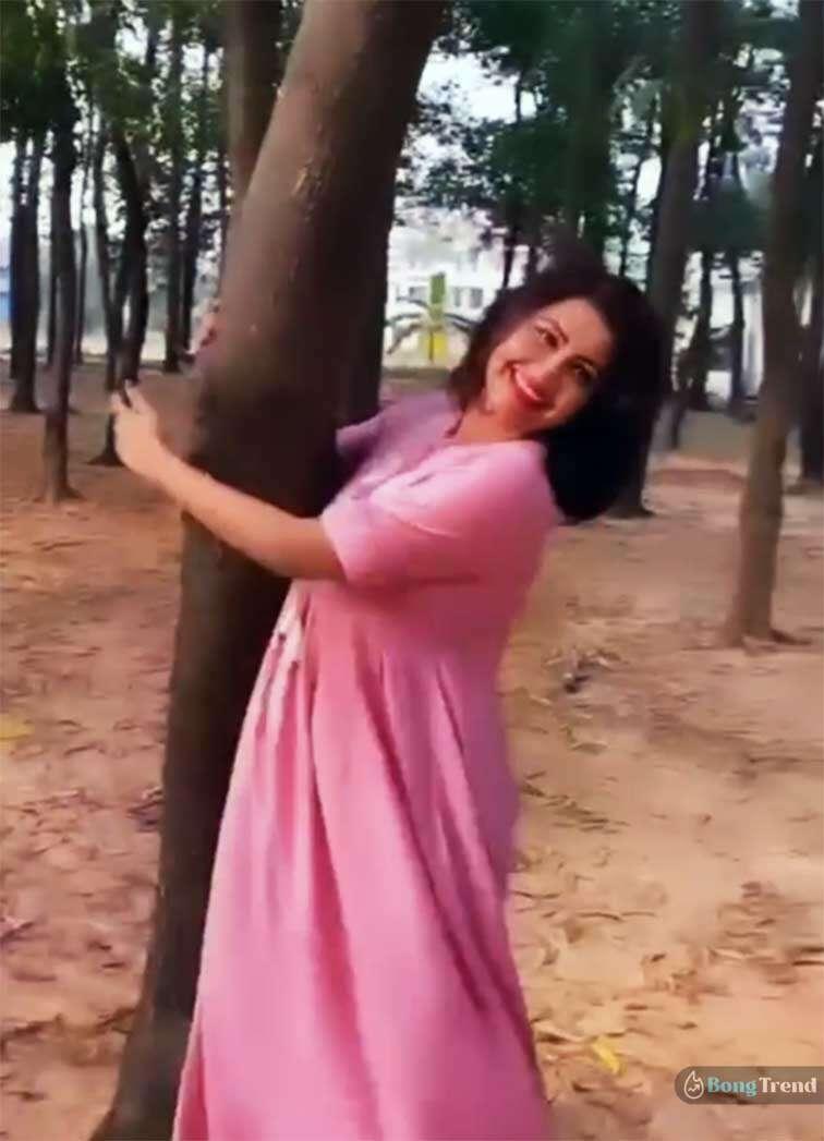 Rachana Banerjee in Shantiniketan