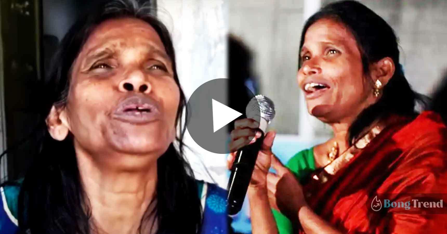 Photo of খালি গলায় 'টুম্পা সোনা' গাইছেন রানাঘাটের রানু মন্ডল, শেয়ার হতেই ভিডিও ভাইরাল নেটপাড়ায়