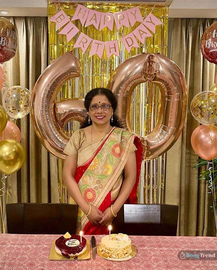 শ্রেয়া ঘোষাল Shreya Ghoshal Mother's Birthday