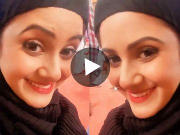 Trina Saha Wearing Borkha তৃণা সাহা Viral Video