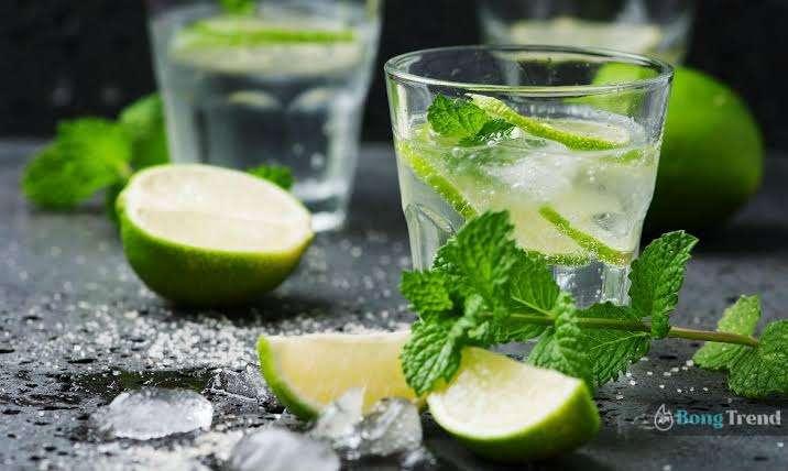 Fresh Lime Soda Drinks