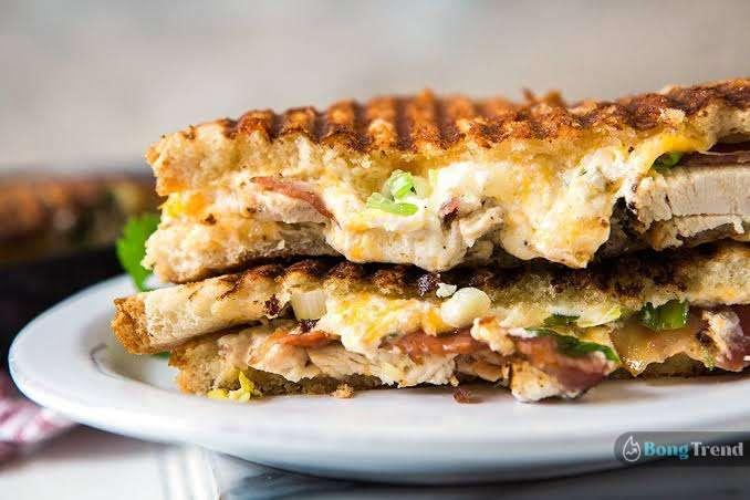 Chicken Cheese Sandwich Recipe