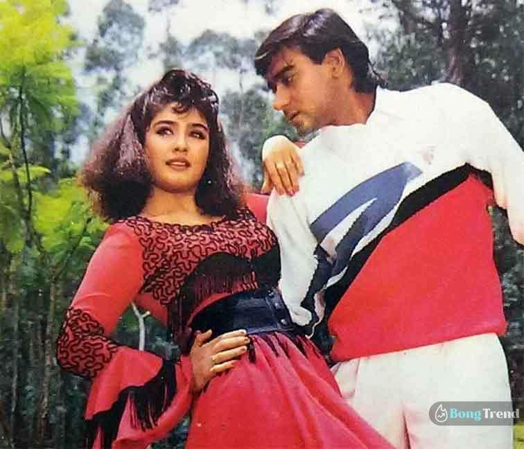 Ajay Debgn Raveena Tandon