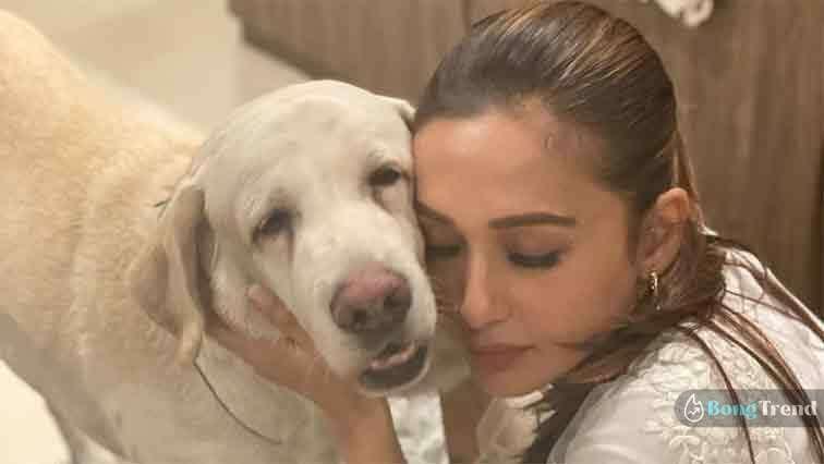 Mimi Chakraborty with Chiku