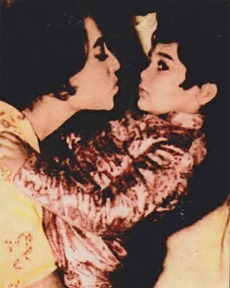 Prasenjit with Suchitra Sen