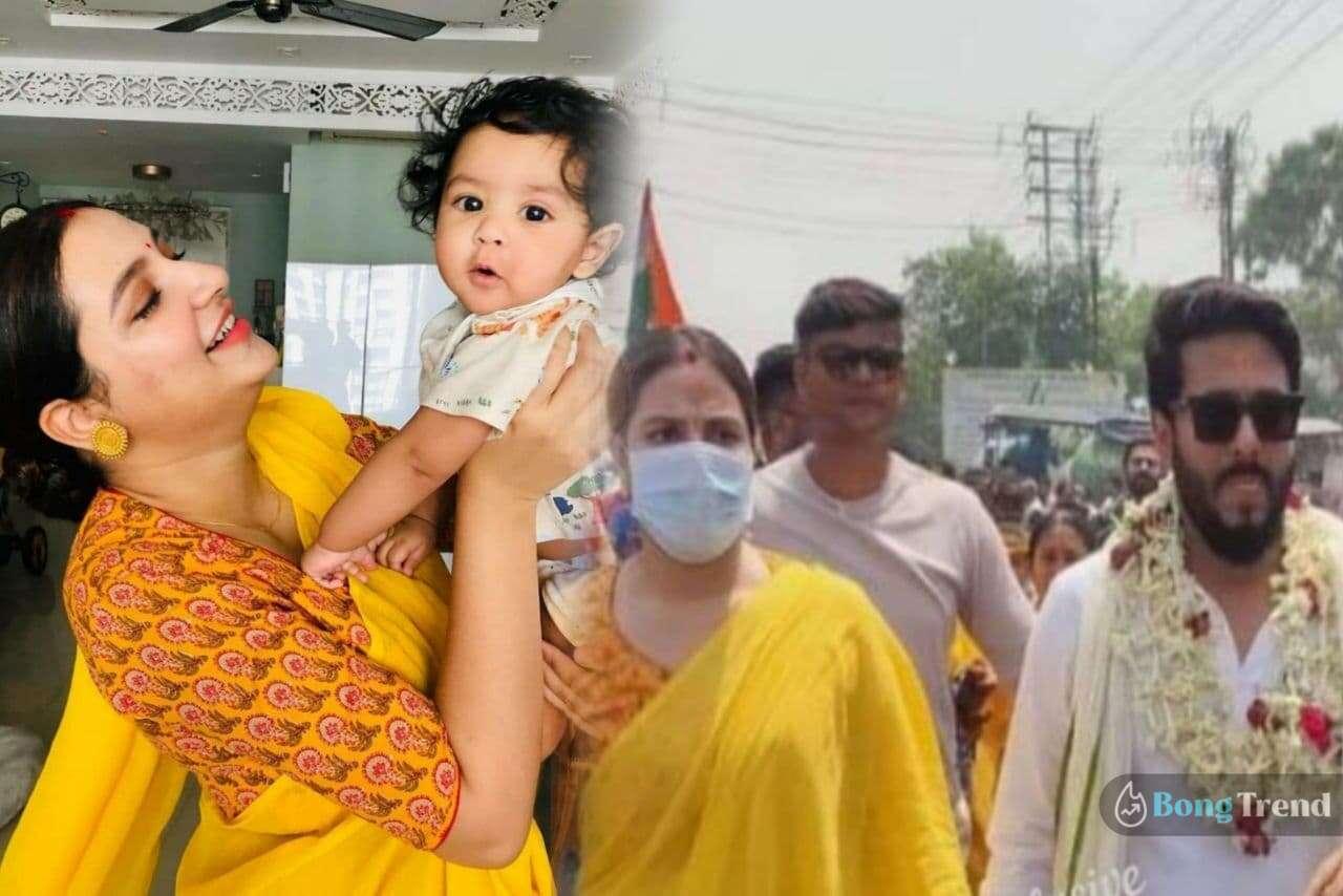 Photo of বিধানসভা ভোটের প্রার্থী রাজ! যুবানকে রেখে স্বামীর জন্য প্রচারে নামলেন শুভশ্রী গাঙ্গুলি