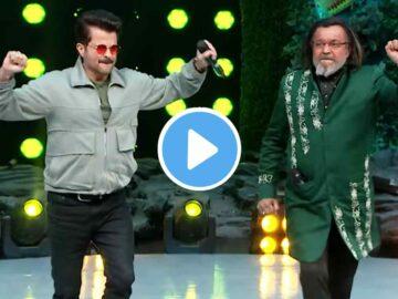 Mithun Chakraborty Dancing with Anil Kapoor