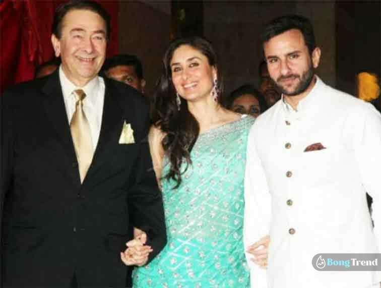 Kareena Kapoor Randhir Kapoor Saif Ali Khan