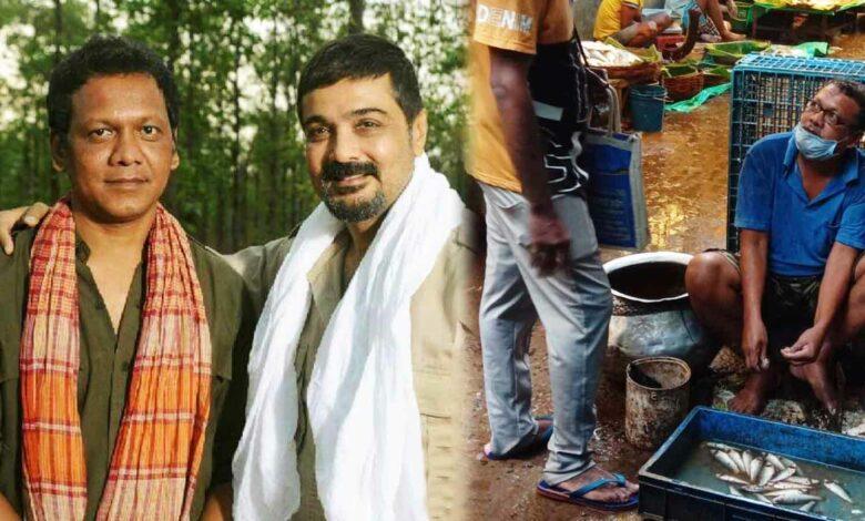 শ্রীকান্ত মান্না Srikanta Manna actor selling fish
