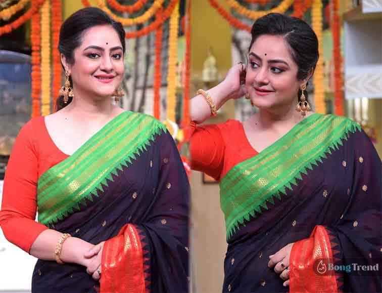 রান্নাঘর সুদিপা চ্যাটার্জী Rannaghar Sudipa Chatterjee trolled for earrings