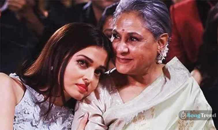 Aishwarya Rai with Jaya Bacchan