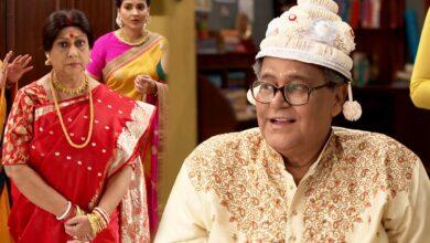 Photo of ফের বিয়ের মরশুম 'খড়কুটো' সিরিয়ালে! বর বেশে হ্যান্ডসাম শ্বশুরকে দেখে একেবারে ফিদা জামাই
