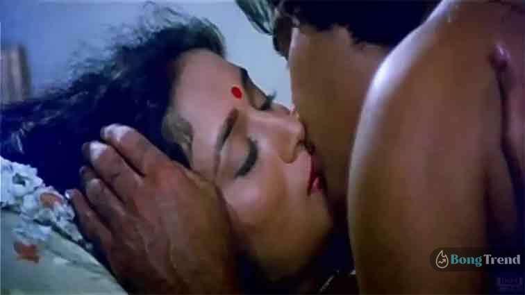 Madhuri Dixit Intimate Scene with Binod Khanna