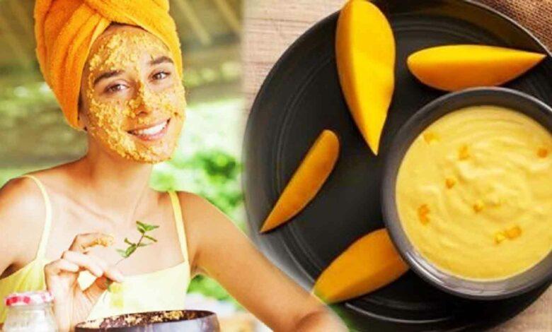 আমের ফেসপ্যাক Mango Facepack