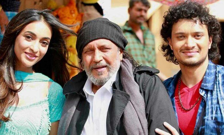 মিঠুন চক্রবর্তী Mithun Chakraborty Son Nomsi Chakraborty Bollywood Debut