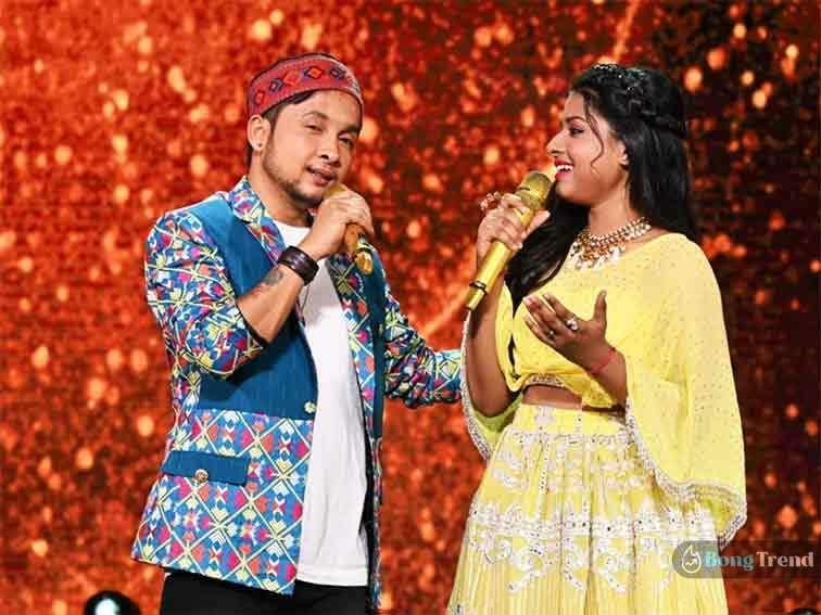 Indian Idol Pawandeep Arunita