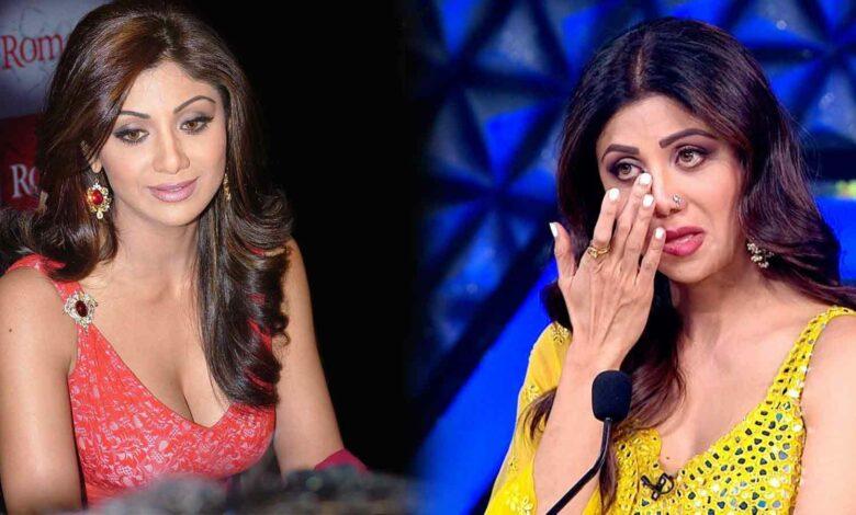 Shilpa Shetty Sad