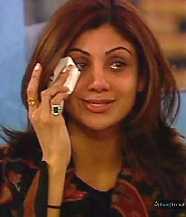 শিল্পা শেট্টি Shilpa Shetty Crying