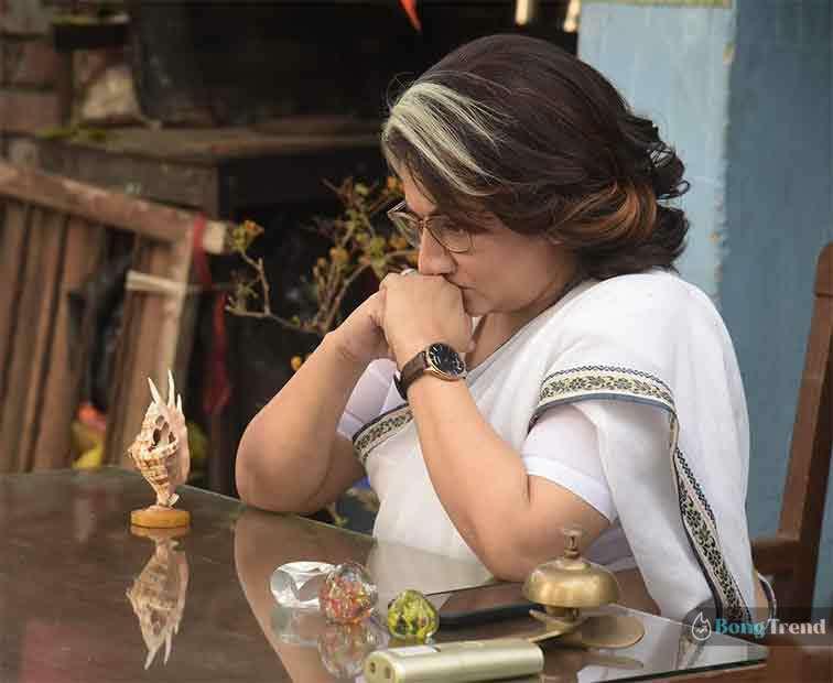 শ্রীলেখা মিত্র Sreelekha Mitra as Indira Gandhi in NYAY