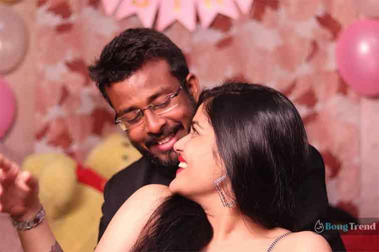 তিথি বসু Tithi Basu Maa Serial Jhilik with her lover